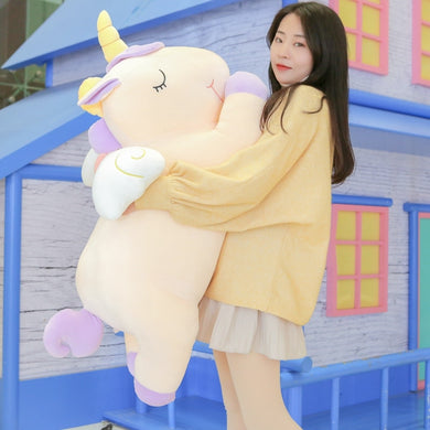 Giant 80/100cm Unicorn Plush Toy