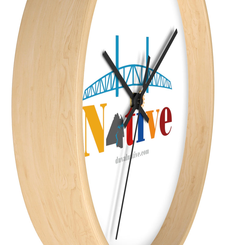 The 'Round Here: Wall clock