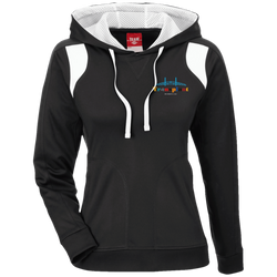 TT30W Team 365 Ladies' Colorblock Poly Hoodie