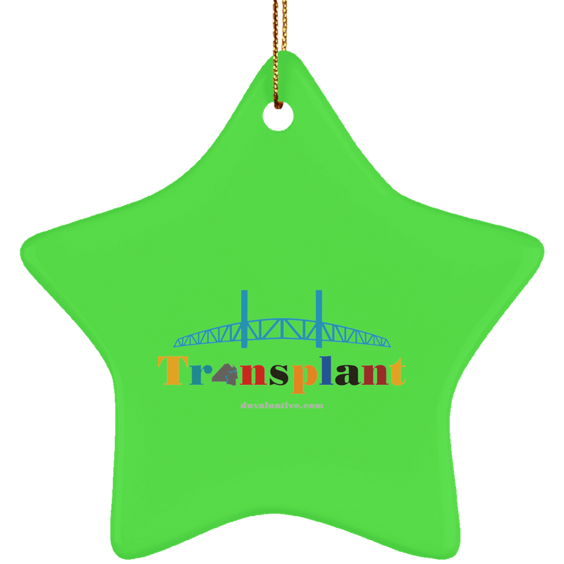 SUBORNS Ceramic Star Ornament