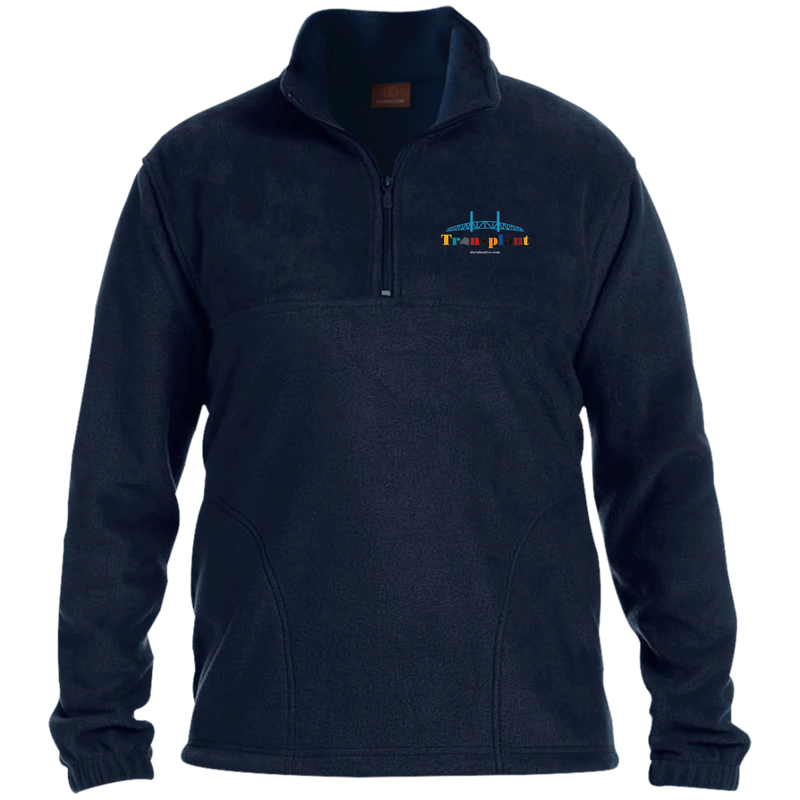 M980 Harriton 1/4 Zip Fleece Pullover