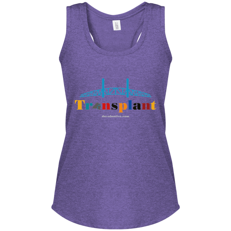 DM138L District Women's Perfect Tri Racerback Tank