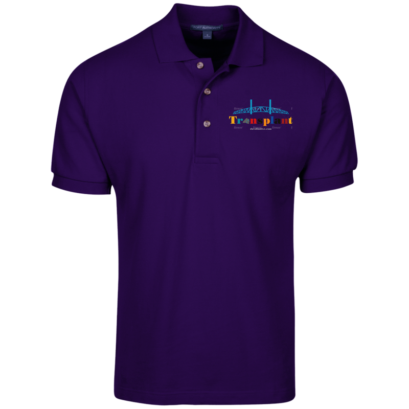 K420 Port Authority Cotton Pique Knit Polo
