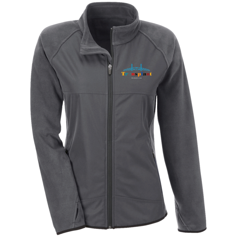 TT92W Team 365 Ladies' Microfleece with Front Polyester Overlay