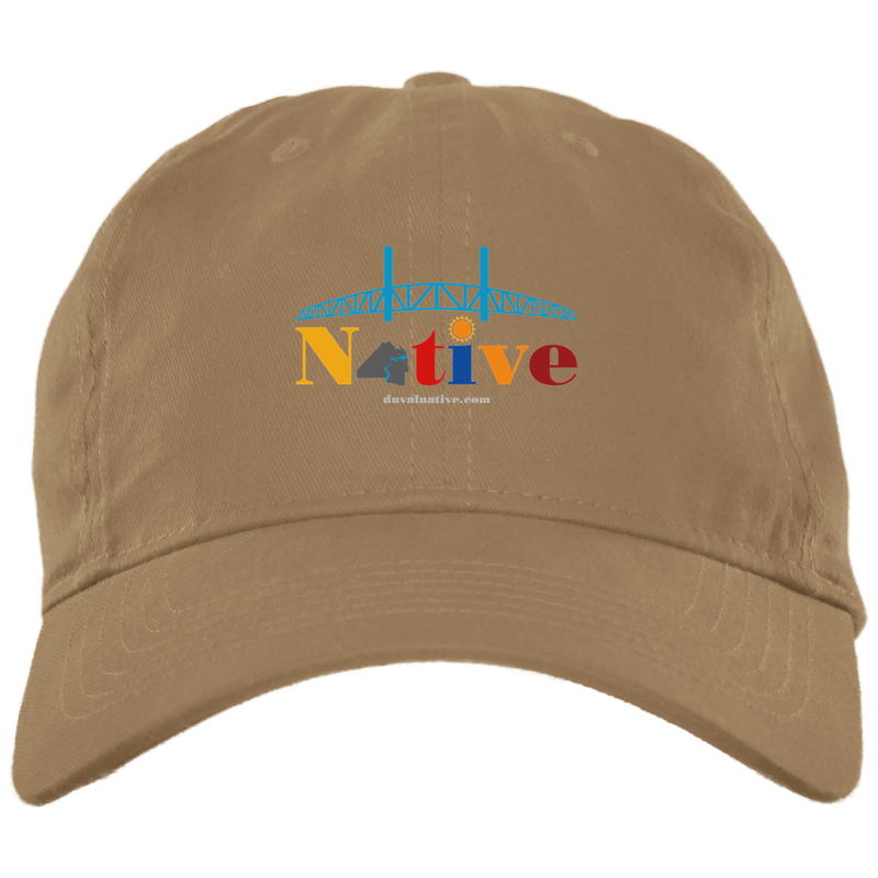 BX001 Brushed Twill Unstructured Dad Cap