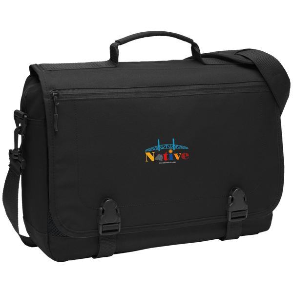 BG304 Port Authority Messenger Briefcase