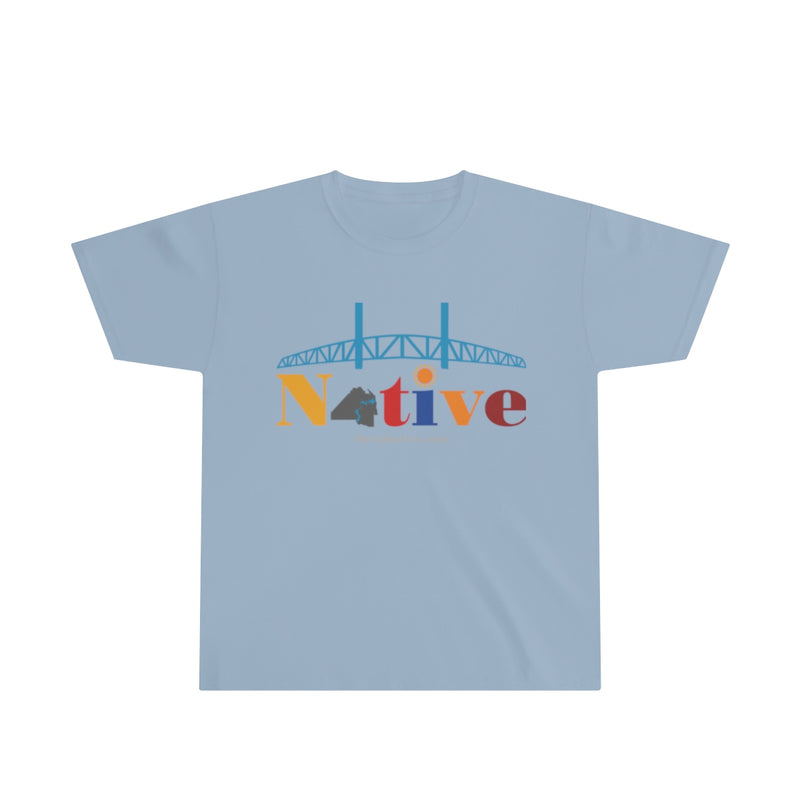 Youth Ultra Cotton Tee, Logo On Front Only