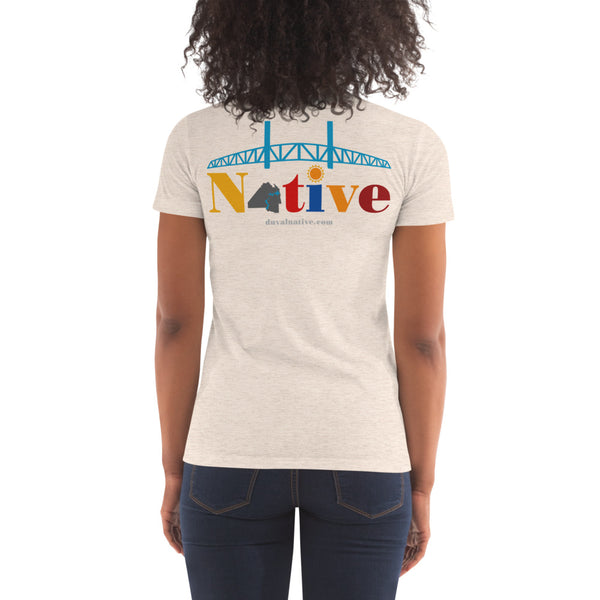 Duval Native Women's Crew Neck T-shirt
