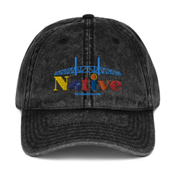 Duval Native Vintage Cotton Twill Cap