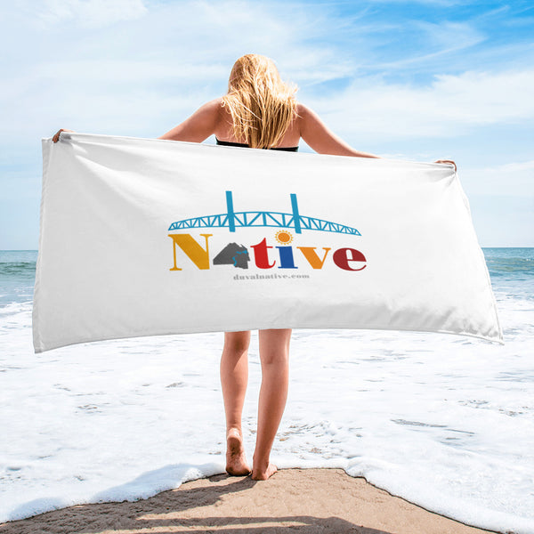 Duval Native Beach Towel