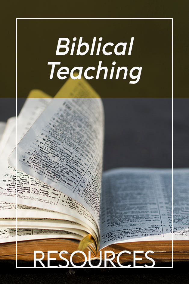BIBLICAL TEACHING Sale