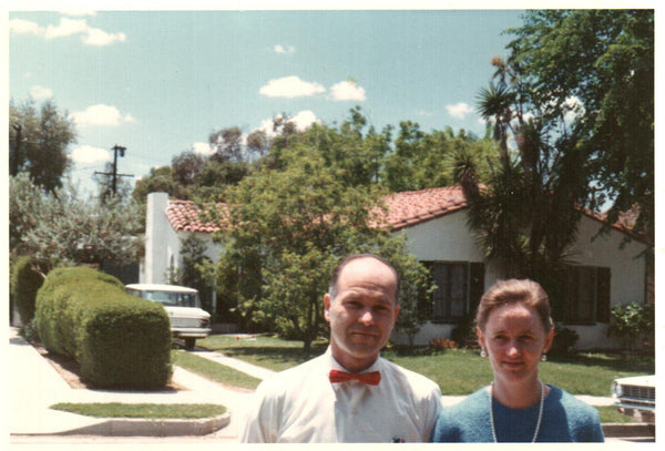 Dr. & Mrs. Winter at their home where William Carey Library started.