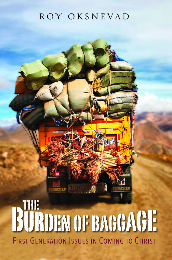 Cover of The Burden of Baggageby Roy Oksnevad at MissionBooks.org