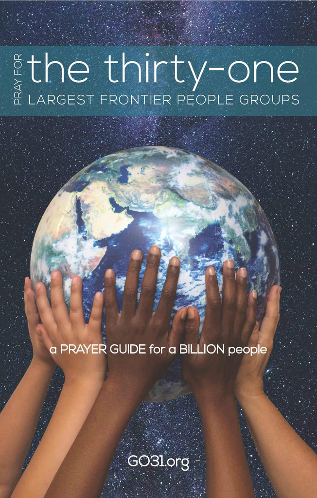Cover of Pray for the 31by A Coalition of Prayer and Mission Leaders at MissionBooks.org