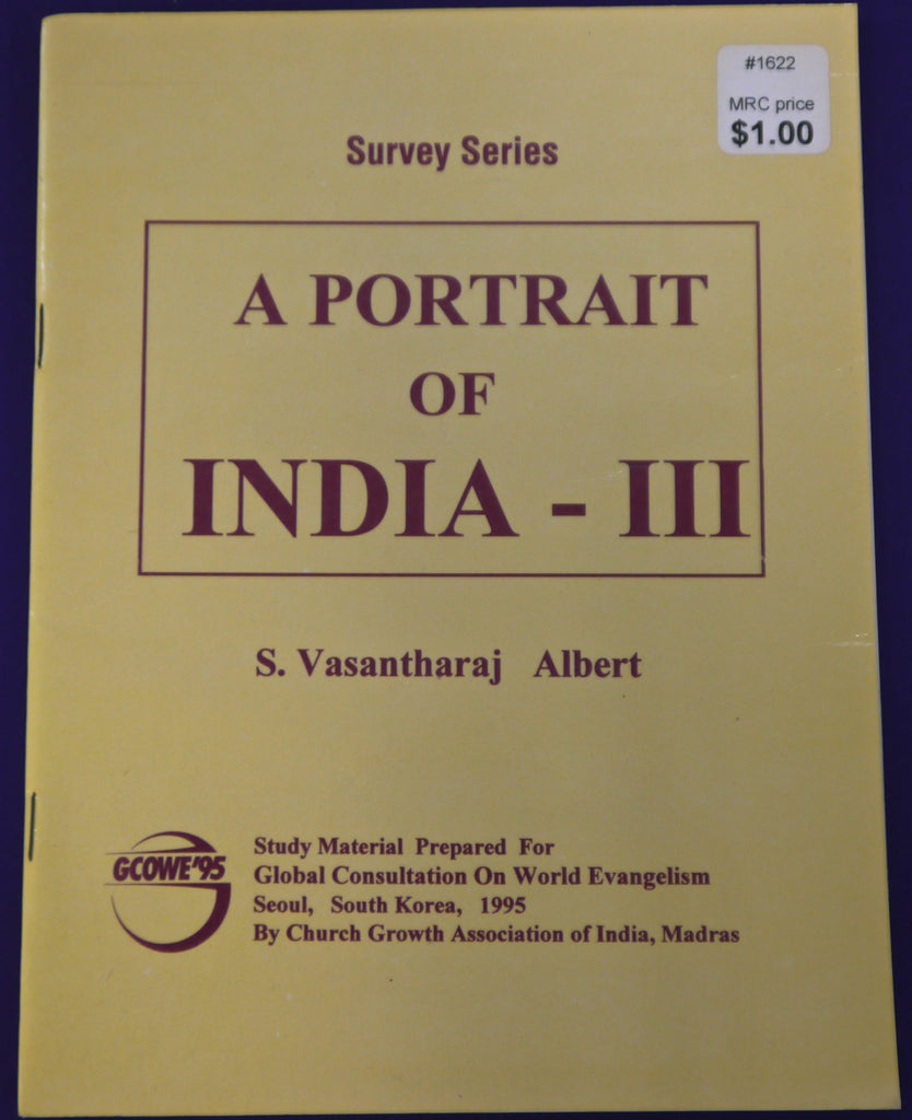A  Portrait of India--III