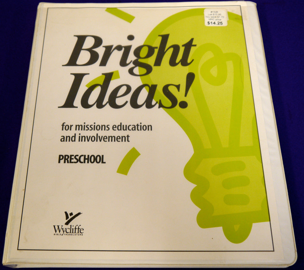Bright Ideas!: For Missions Education and Involvement, Preschool