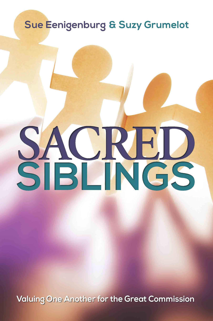 Cover of Sacred Siblingsby Sue Eenigenburg and Suzy Grumelot at MissionBooks.org