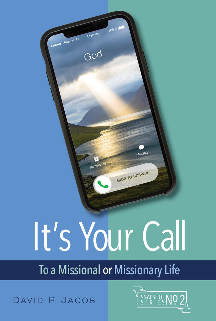 Cover of It's Your Callby David P. Jacob at MissionBooks.org