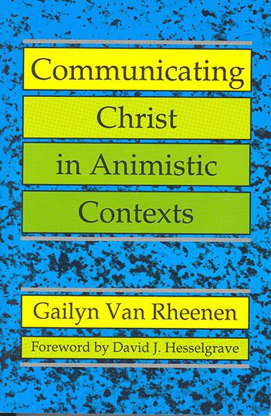 "Cover of the book ""Communicating Christ In Animistic Contexts: "" at MissionBooks.org"