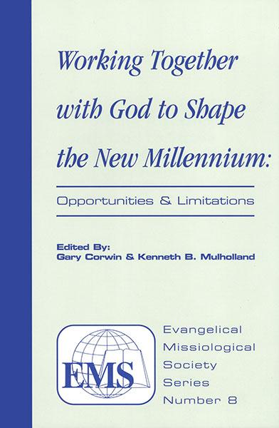 "Cover of the book ""Working Together with God to Shape the New Millennium (EMS 8): Opportunities and Limitations"" at MissionBooks.org"