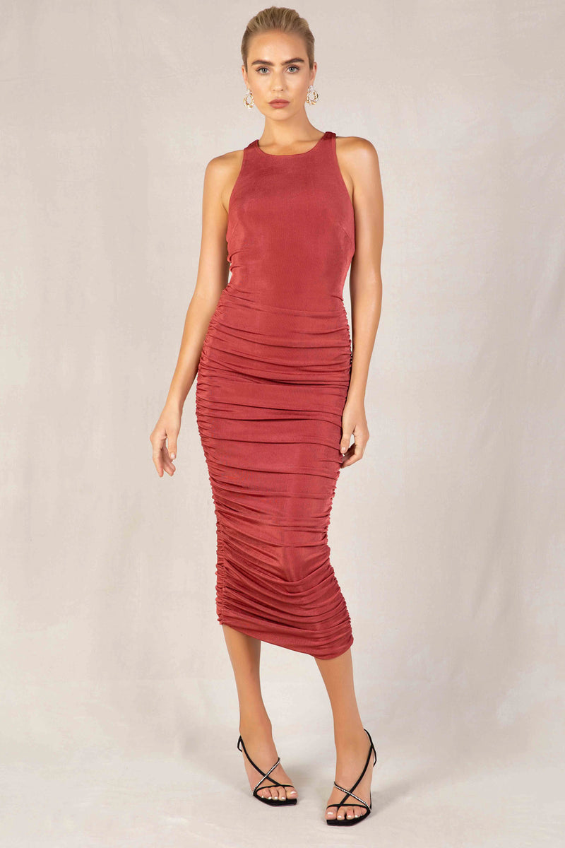 CARIANA MIDI DRESS