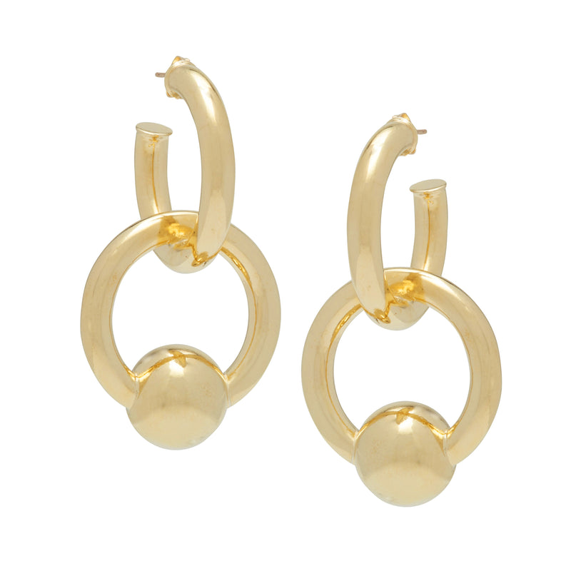 Cozette earring in colour gold