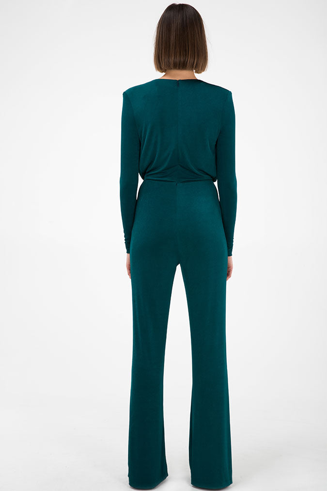 ATLANTA SLINKY EMERALD JUMPSUIT