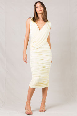 LANEY SLINKY MIDI DRESS