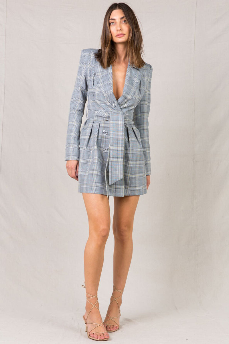 FADYAH TAILORED BLAZER DRESS