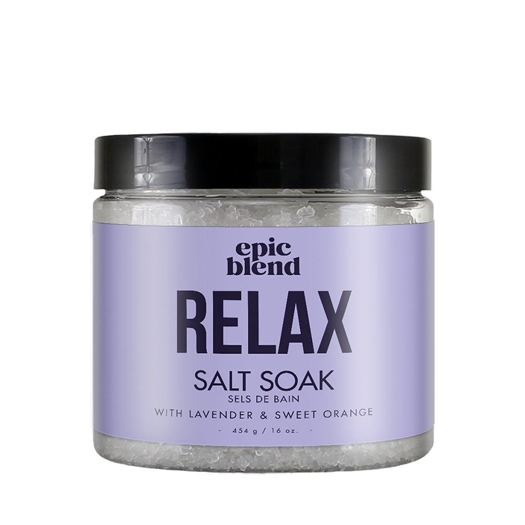 EP Salt Soak 454G/16OZ Relax
