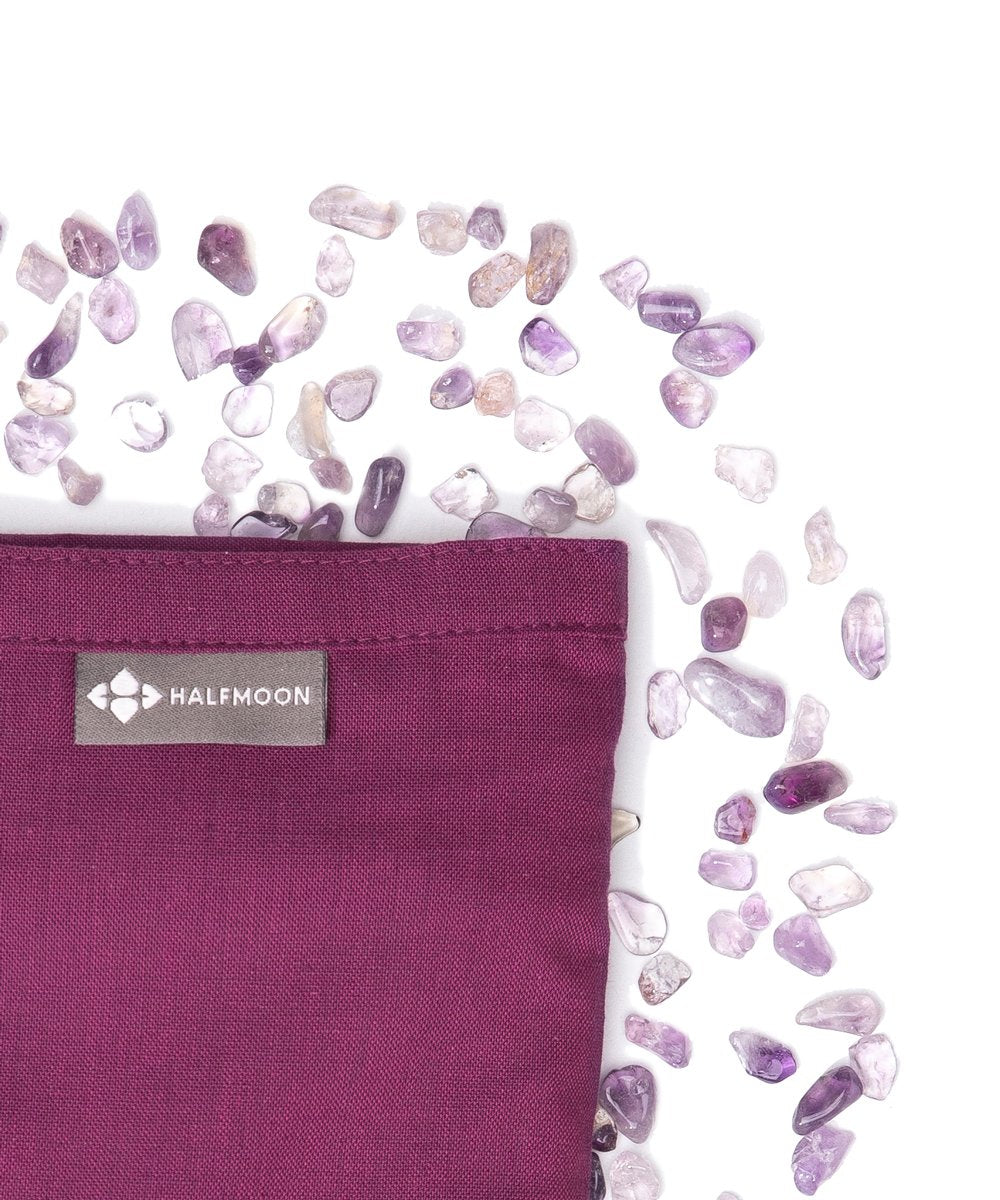 BYOGA- The Crystal Collection- Cotton Lavender Eye Pillow Amethyst