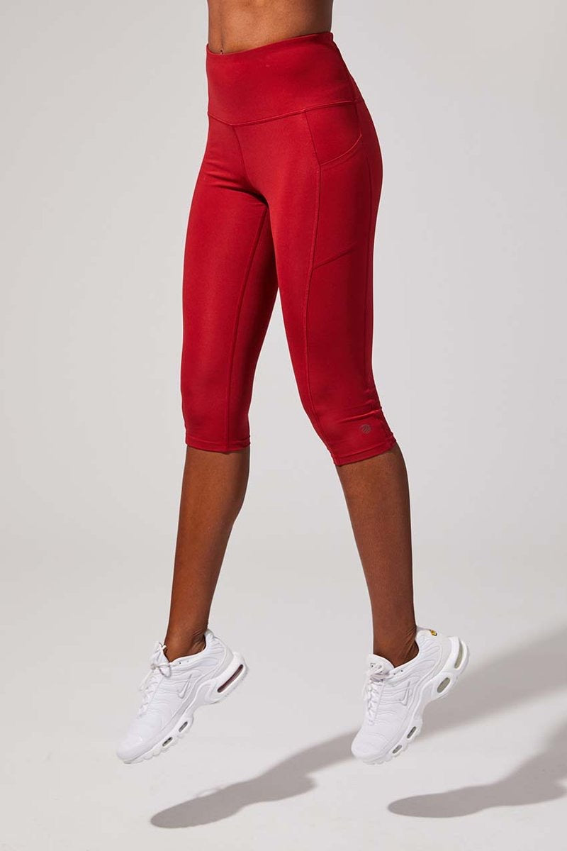 Step Up High Waisted Capris
