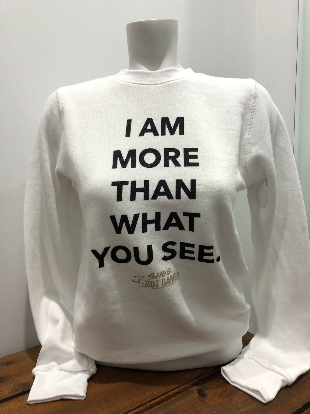 I Am More Than What You See Bamboo Crewneck ADULT