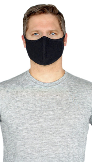 Premium Bamboo/Cotton 2ply lightweight Face Mask (w/ wire)