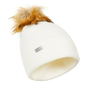 Kombi Chic Faux Fur Pompom Toque