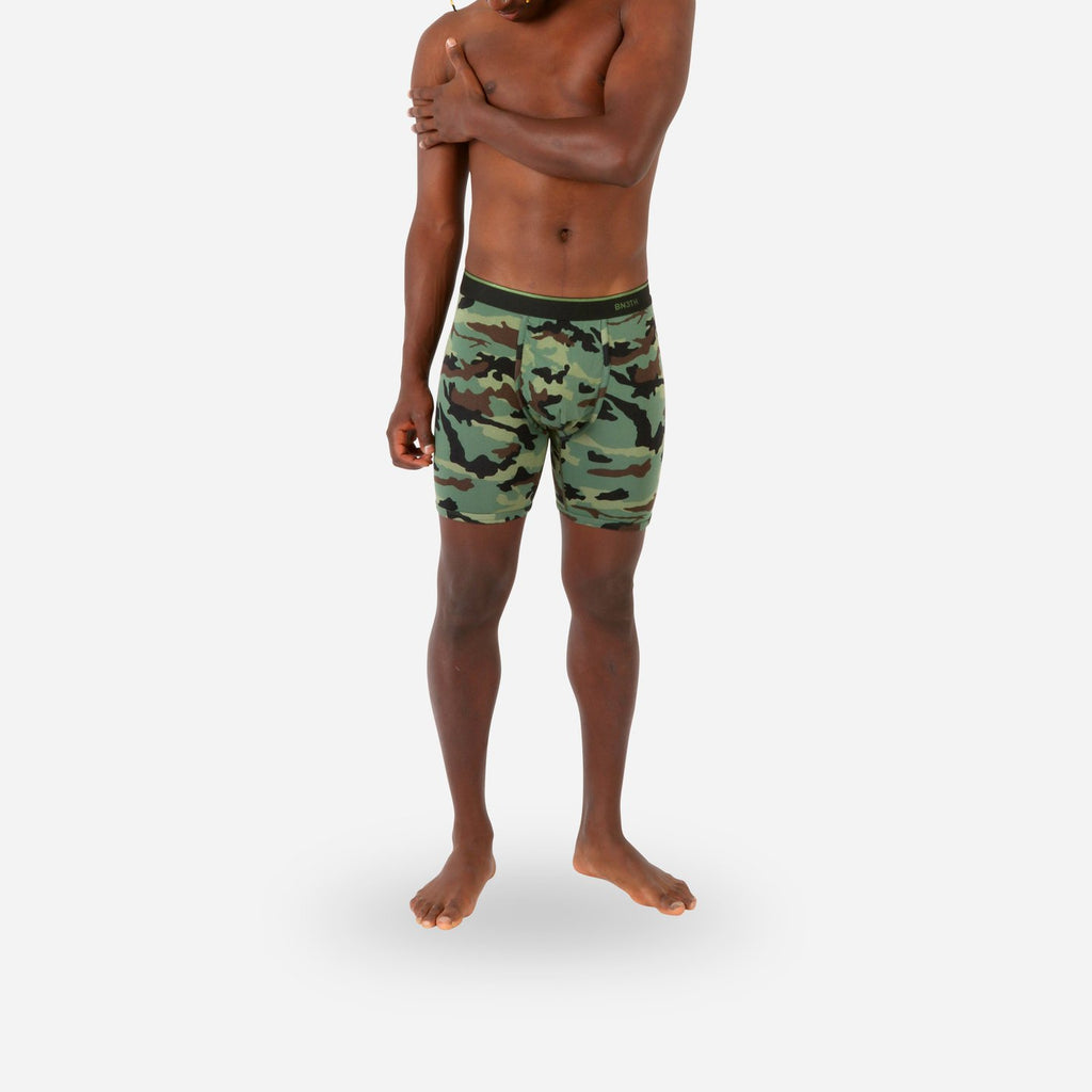 BN3TH Classic Boxer Briefs - Camo Green Print