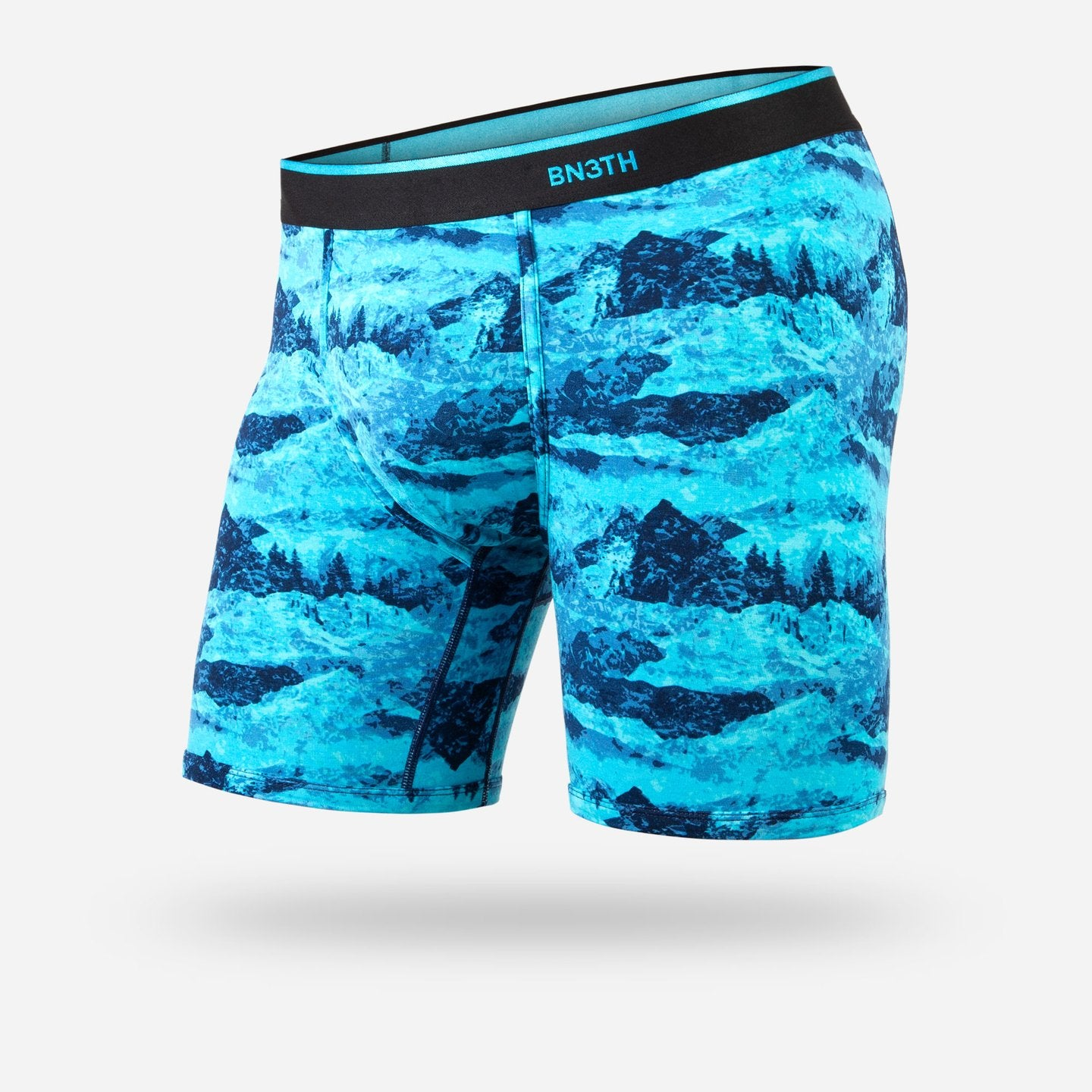 BN3TH Classic Boxer Briefs - Print Peaks Blue