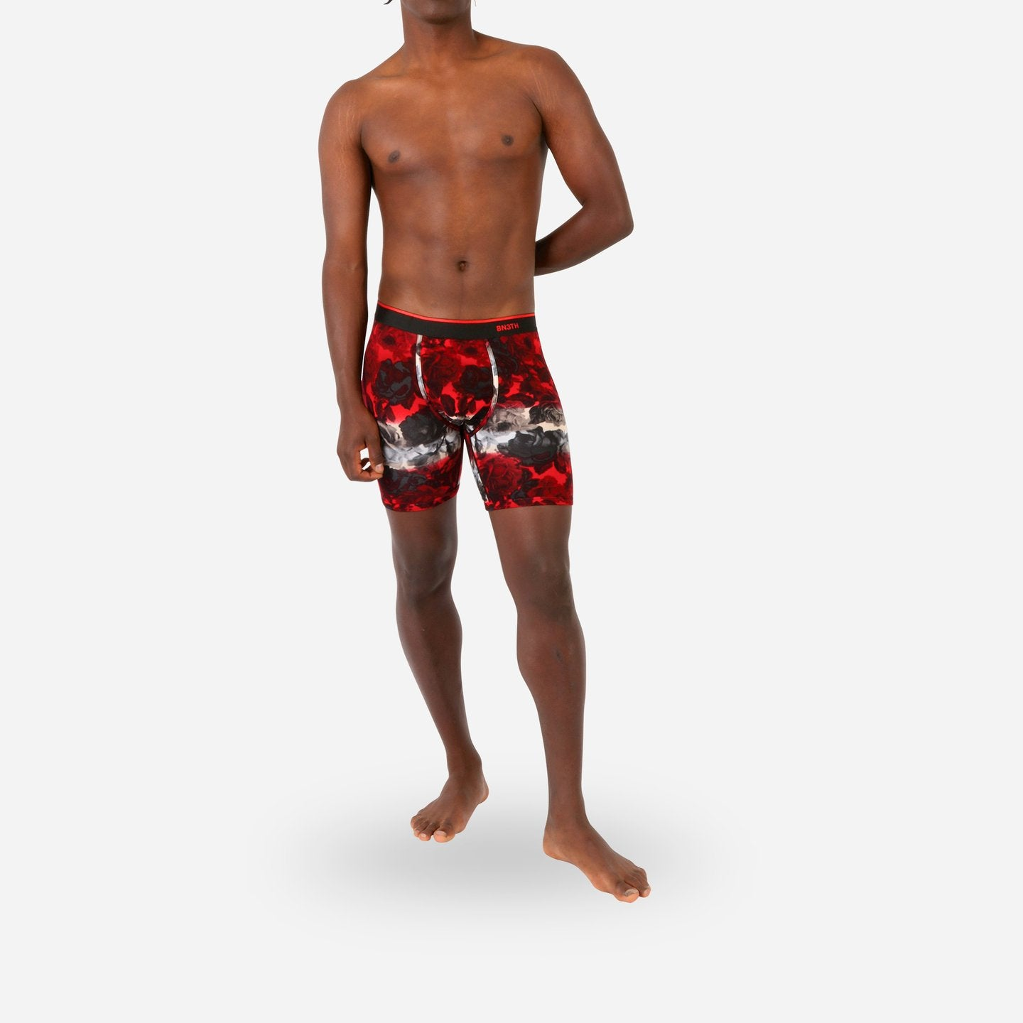 BN3TH Classic Boxer Brief- Print Rose