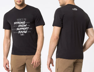 Here's To Strong Women MPG Tower Tshirt - ADULT MENS