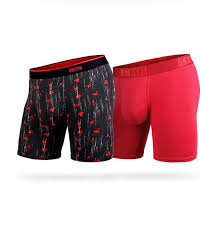 BN3TH 2PK Boxer Brief- Crimson Celepaint