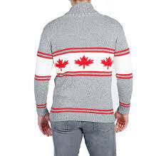 Parkhurst Canada Shawl Collar Sweater Says for Men but we say Unisex ;)