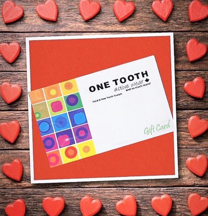 One Tooth Activewear Guelph Gift Card
