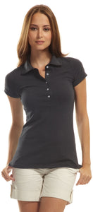 Ladies Bamboo Stretch Polo Golf Shirt