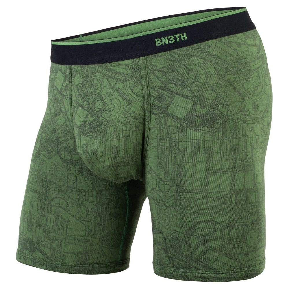 BN3TH Classic Boxer Brief- Mechanics Green