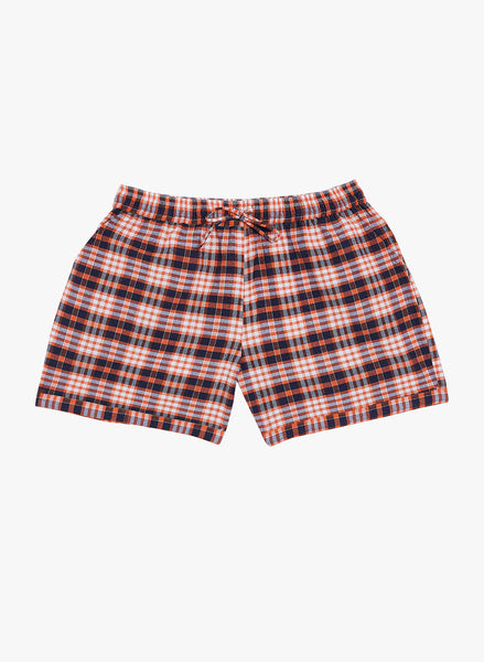 Fabnest girls cotton check shorts