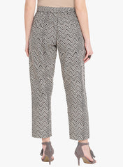 Fabnest Hand Blocked Printed Cotton Pants
