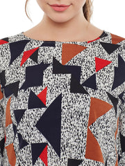 Fabnest Womens Multi-colour Printed Top