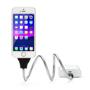 Flexible USB Data Cable Stand For iPhones and Androids