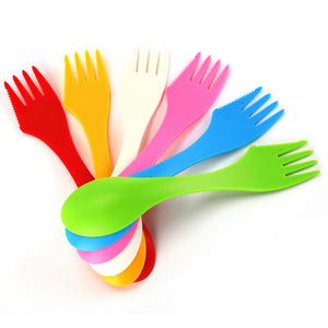 3 In 1 Outdoor Travel Spoon And Fork