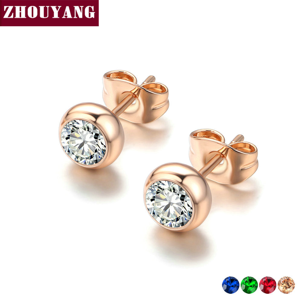 Simple Style Stud Earring For Women